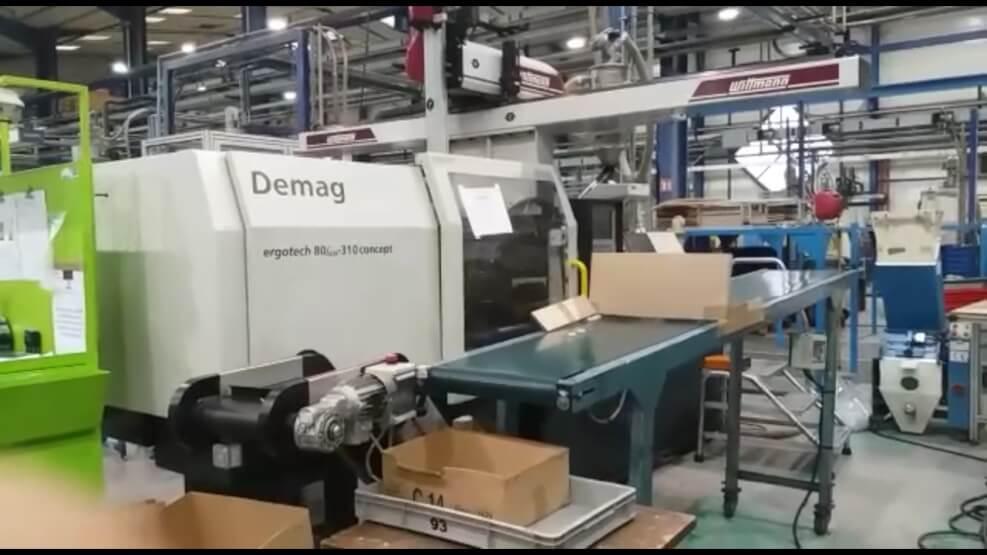 DEMAG ergotech 80/420-310 concept  80 T