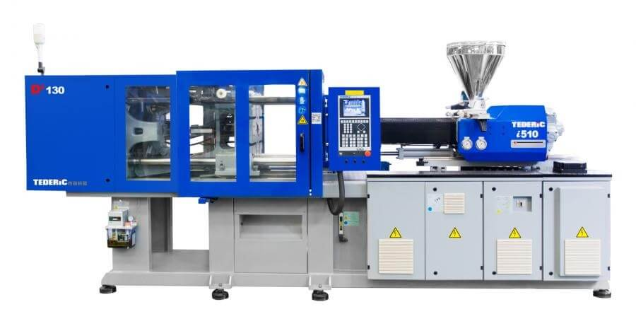 TEDERIC HYDRAULIC INJECTION MOLDING MACHINE FROM 55 TO 700 T