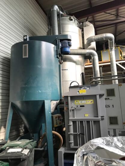 Sécheur générateur d'air sec PIOVAN 3000 Litres