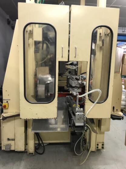 Machine d'extrusion soufflage SERTA ESH4 SD