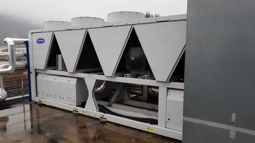 Refroidisseur CARRIER type 30 XA 052 – 503 KW année 2011