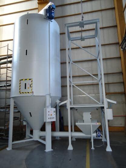 Plast trade silos m langeur en aluminium ou inox for Peripherique interieur exterieur