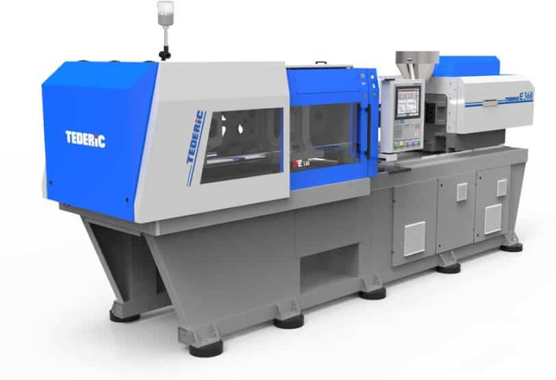 TEDERIC ELECTRIC INJECTION MOLDING MACHINE FROM 55 TO 580 T